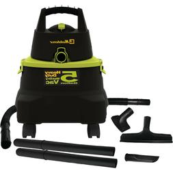 SHOP VAC WET DRY VACUUM Green 5 Gallon Portable With Attachm
