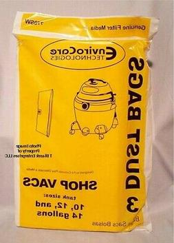ShopVac Bags 10 12 14  gallon 90662 Shop Vac 906-62-00 Pack