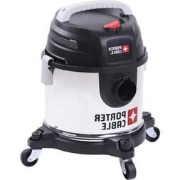 Porter Cable Stainless Steel Wet & Dry Vacuum 4 Gallon 4 HP