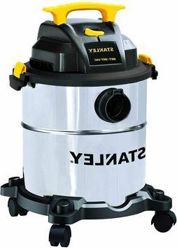 Stanley 6 Gallon Wet Dry Vacuum, 4 Peak HP Stainless Steel 3
