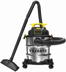 Stanley 6 Gallon Wet Dry Vacuum, 4 Peak HP Stainless Steel 3