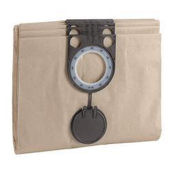 BOSCH Vac Bag For Hndheld Vac, Shop Vacuum,PK5, VAC013