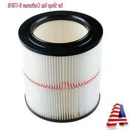 Vacuum Filter Filter For Shop Vac / Craftsman 17816, 9-17816