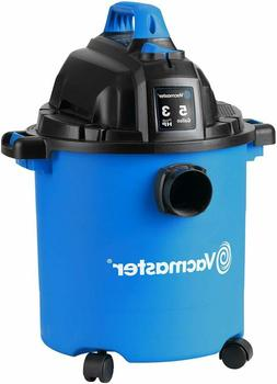Vacmaster, Vjc507P, 5 Gallon 3 Peak Hp Wet/Dry Shop Vacuum