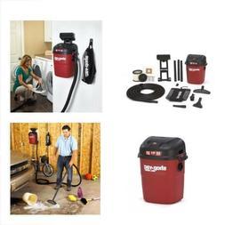 WALL MOUNT WET / DRY Shop Vac 18' FOOT HOSE Vacuum Cleaner C