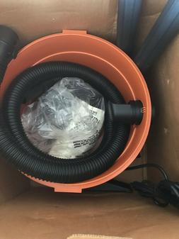 Ridgid WD 00672 6 Gallon Wet/Dry Vacuum Cleaner - Orange S