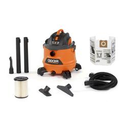 Wet Dry Vac Car Auto Detail Kit 14 Gal. Work Shop Vacuum Gar