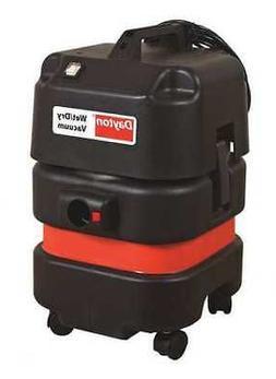 """DAYTON 20X605 Industrial/Commercial Shop Vacuum, 1-1/2"""" Hose"""