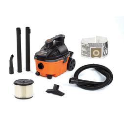 Ridgid Wet Dry Vacuum 4 Gal 5-Peak Horsepower Motor 18 Lb Au