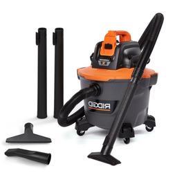 RIDGID Wet Dry Vacuum Tool 18 Volt 9 Gal Cordless Home Car S