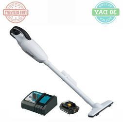 Makita XLC02RB1W 18V Compact Lithium-Ion Cordless Vacuum Kit